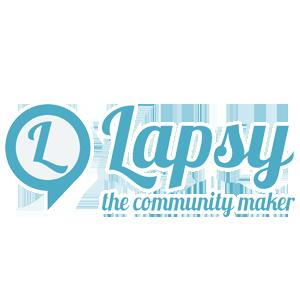 Logo Lapsy the community maker per OSL - programmi gestione produzione e logistica, collaborazione tecnologia aziende, fornitura soluzioni informatiche aziende meccaniche
