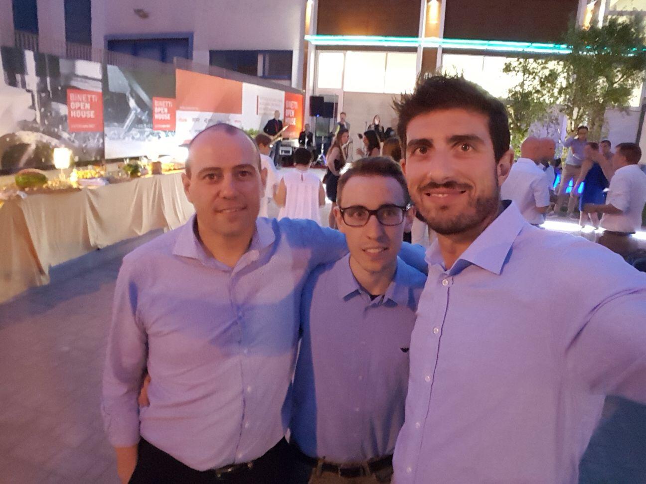 Paolo Pradini, Fabrizio Prandini, Riccardo Siracusa