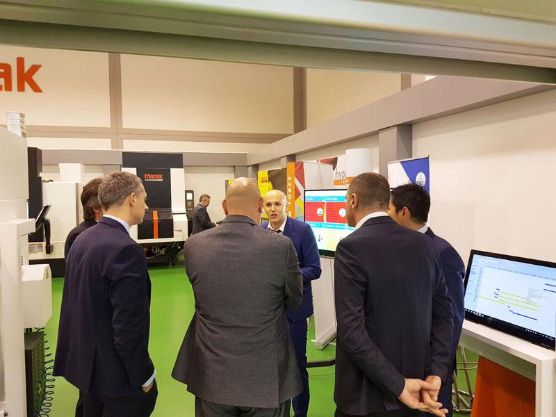 Luca Simonini OSL per mazak taglio laser software gestionale industry 4.0