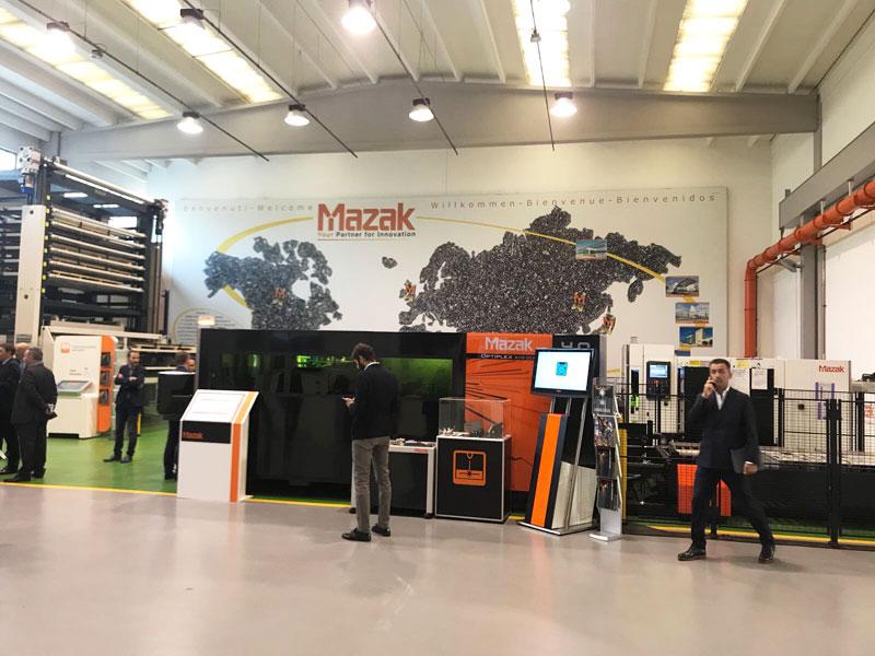 Openhouse Mazak OSL partner tecnologico programma gestionale cnc