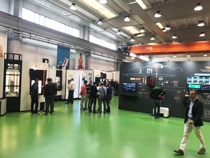 Openhouse mazak OSL fabbrica futuro azienda meccanica produzione logistica